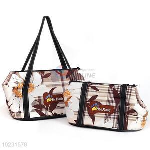 Latest design good gift pet travel shoulders bag