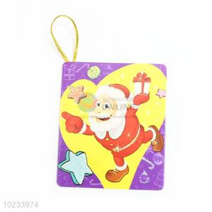Chinese Factory Rectangular Christmas Greeting Card/Congratulation Card