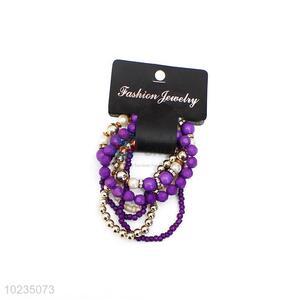 New Arrival Multi Circle Charm Bracelet Ladies Jewelry