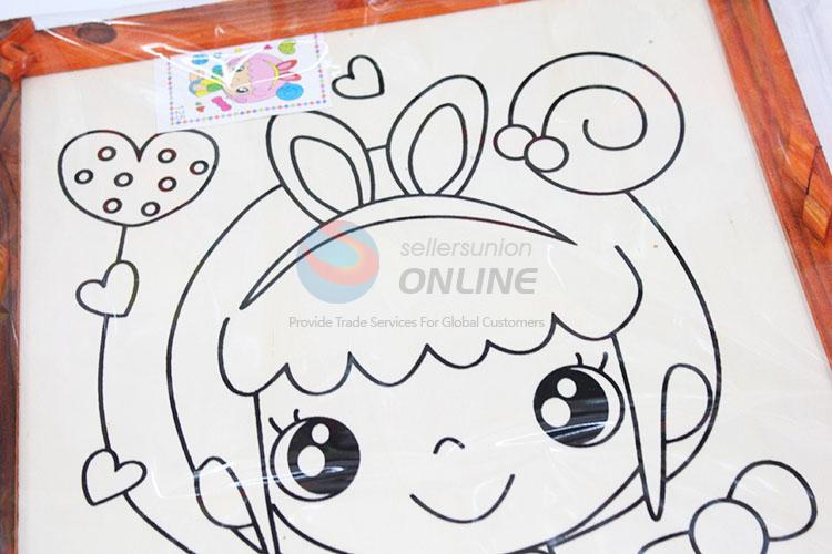 Best fashion low price wooden-frame mud painting - Sellersunion Online