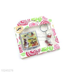 New Arrival Mirror and Key Chain Set with Gift Box