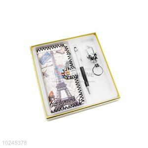 Factory Wholesale Wallet and Pen and Key Chain Set for Sale