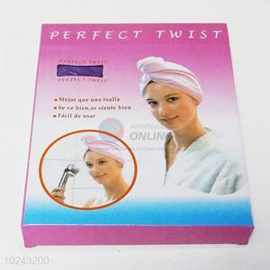 Wholesale low price direct facatory hair-drying cap hair towel