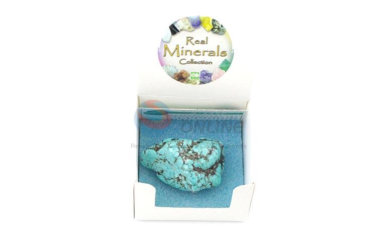 Wholesale Nice Blue Mineral Collection/Stone Crafts for Sale