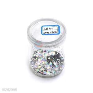 New Design Triangle Shape Laser Color Glitter Powder