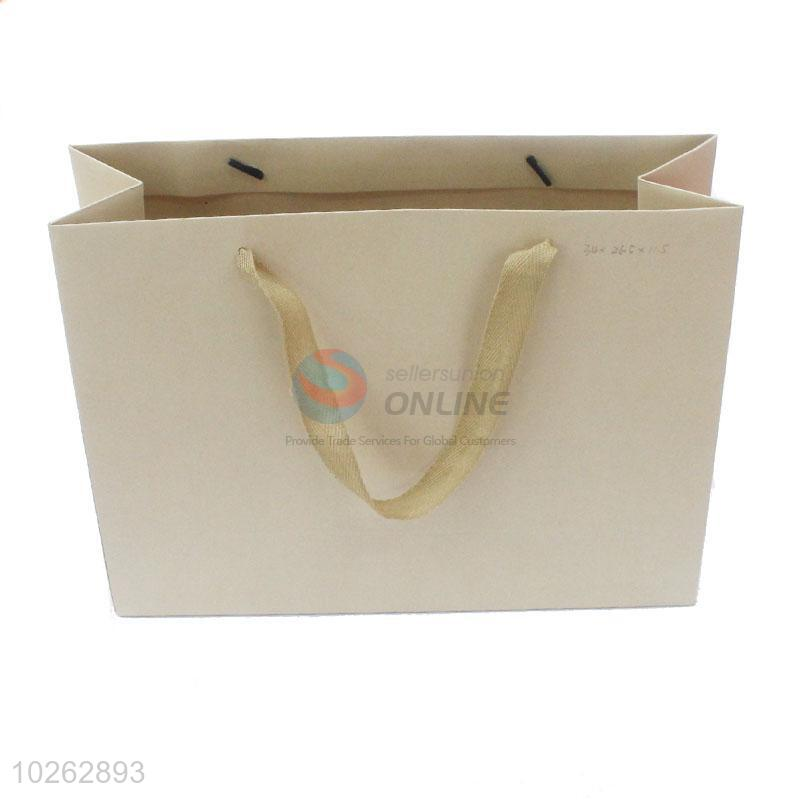 Recyclable Art Paper Customized Gift Bag With Handle