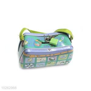 Promotional Wholesale Bag Pattern Money Box with Lock&Key for Sale