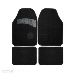Wholesale 4 Pieces Anti Slip Car Floor Mat Foot Mat Set