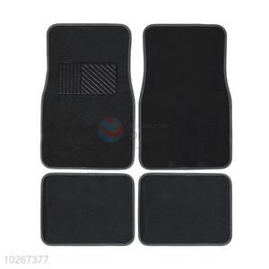Fashion Easy Washing 4 Pieces Car Mat Cheap Car Foot Mat