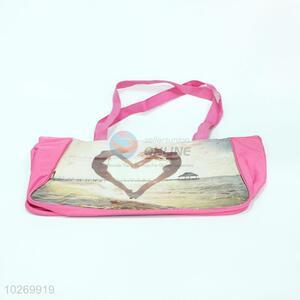 Shoulder of PVC Beach Bag