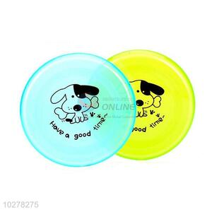 High Quality Plastic Pet Toy Colorful Pet Frisbee