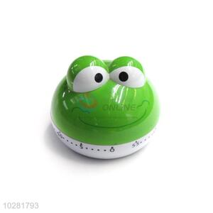 Hot Sale Plastic Cartoon Frog Shape Kitchen Timer