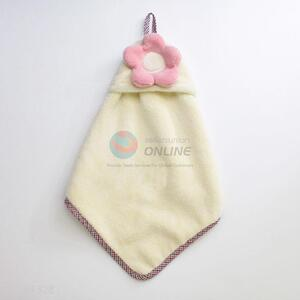 Eco Friendly Flower Decoration Hand Towel Kitchen Use