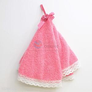 New Advertising Hanging Chads Hand Towel with Lace