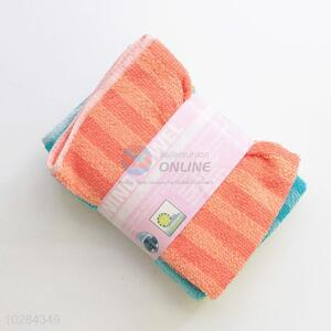 Colorful Kitchen Cleaning Cloths Cotton Yarn Dish Towel