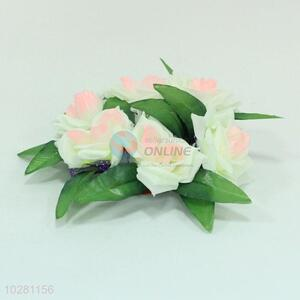 Wholesale price home decor plastic flower lei
