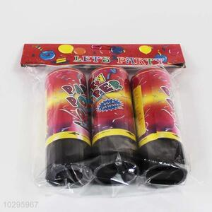 New style popular 3pcs party poppers