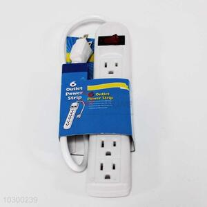 Good Quality 6 Outlet Power Strip/Electrical Socket