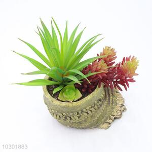 Top selling bamboo root shape simulation succulent plants
