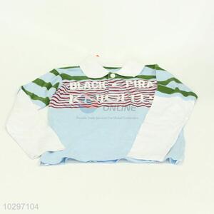 Popular Long Sleeve POLO Shirt For Boy