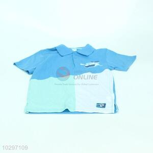 Simple Design Boy Short Sleeve POLO Shirt