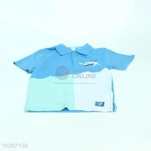Simple Design Boy Short Sleeve POLO Shirt
