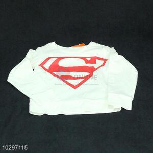 High Quality Girl Long Sleeve Cotton T-Shirt
