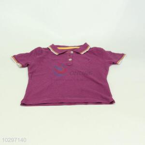 Good Quality Boy Short Sleeve Shirt Polo Shirt