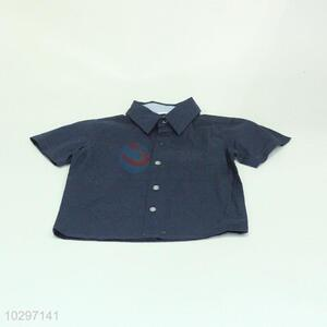 Hot Sale Boy Short Sleeve Shirt Children Dress
