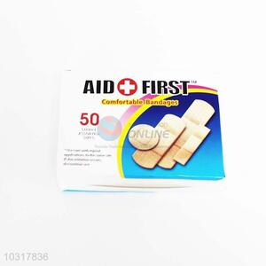 50PC Emergency first aid bandage waterproof band-aids