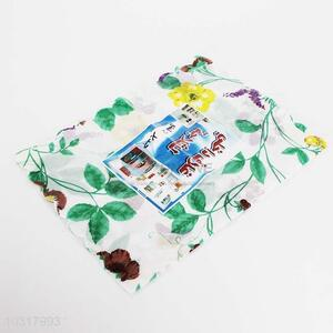 2pc Flower Pattern Refrigerator Dust Cover