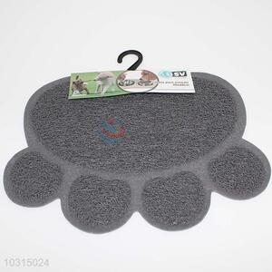 Cute low price best sales gray pvc pet mat