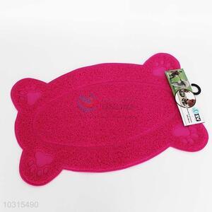 High sale cute rose red pet mat
