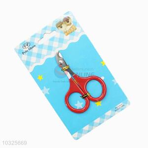 Customized cheapest new arrival pet nail scissors