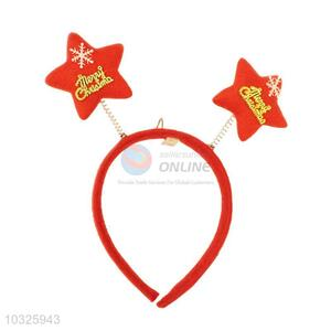 Popular Top Quality Low Price Star Christmas Hair Band