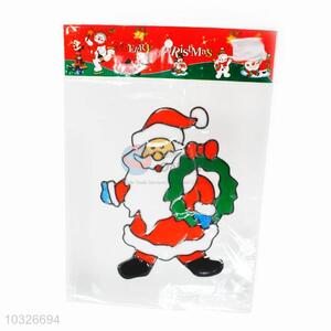 Fashion Santa Claus Pattern Christmas Window Sticker