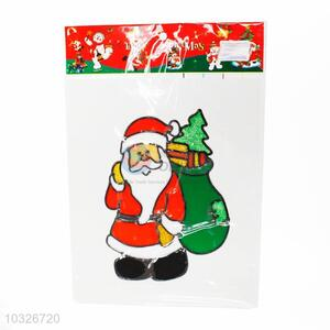 Cheap Santa Claus Pattern Window Sticker Festival Stickers