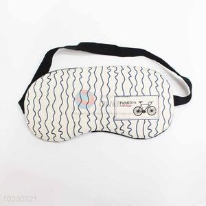 Wave Pattern Eyeshade or Eyemask for Airline and Hotel