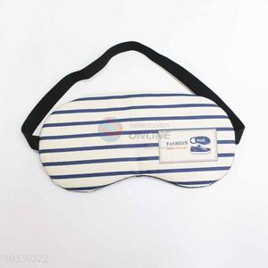 Blue Strip Pattern Eyeshade or Eyemask for Airline and Hotel