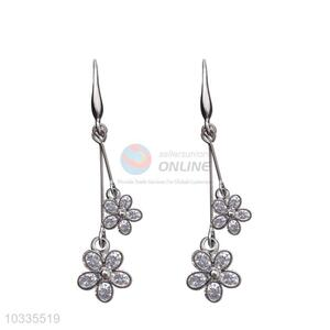 China manufacturer low price zircon earrings