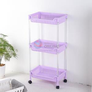 Wholesale Three Layers Storage Holders With Wheels