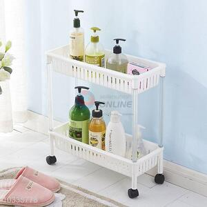 Best Price Two Layers Storage Rack Plastic Storage Holders
