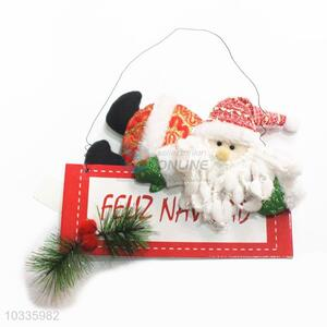 Competitive price hot selling Christmas welcome board decoration