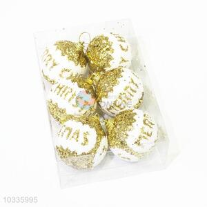 Super quality bottom price promotional Christmas balls