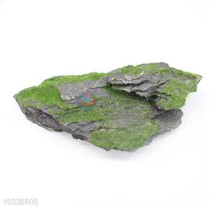 Artificial Stone with Moss Vivid Home Aquarium Ornaments