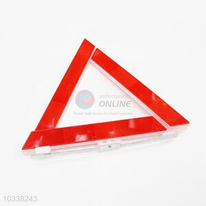 Reflective Warning Triangle Emergency Safety Warning Sign