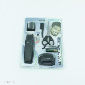 Factory Price 7pcs Metal Trimmer Set Hair Clipper Hair Trimmers