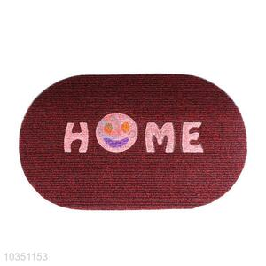 Wholesale Custom Cheap Smile Printed Door Mat