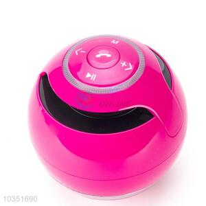 High quality colorful ball shaped bluetooth speaker