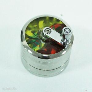 Round 4 layers kirsite cigarette grinder